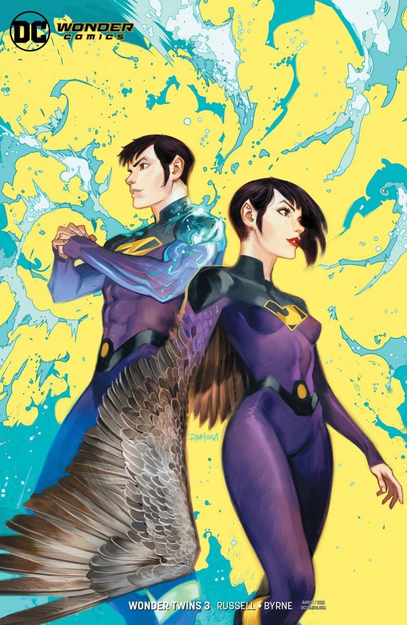 Wonder Twins #3 CVR B