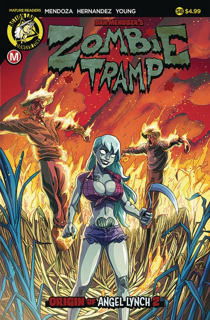 Zombie Tramp  #58 CVR A Young