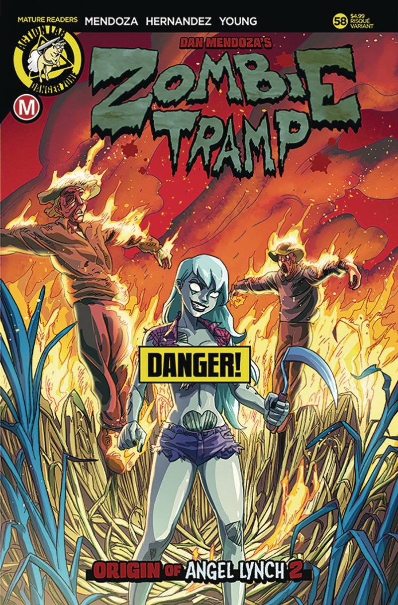 Zombie Tramp  #58 CVR B Young Risque