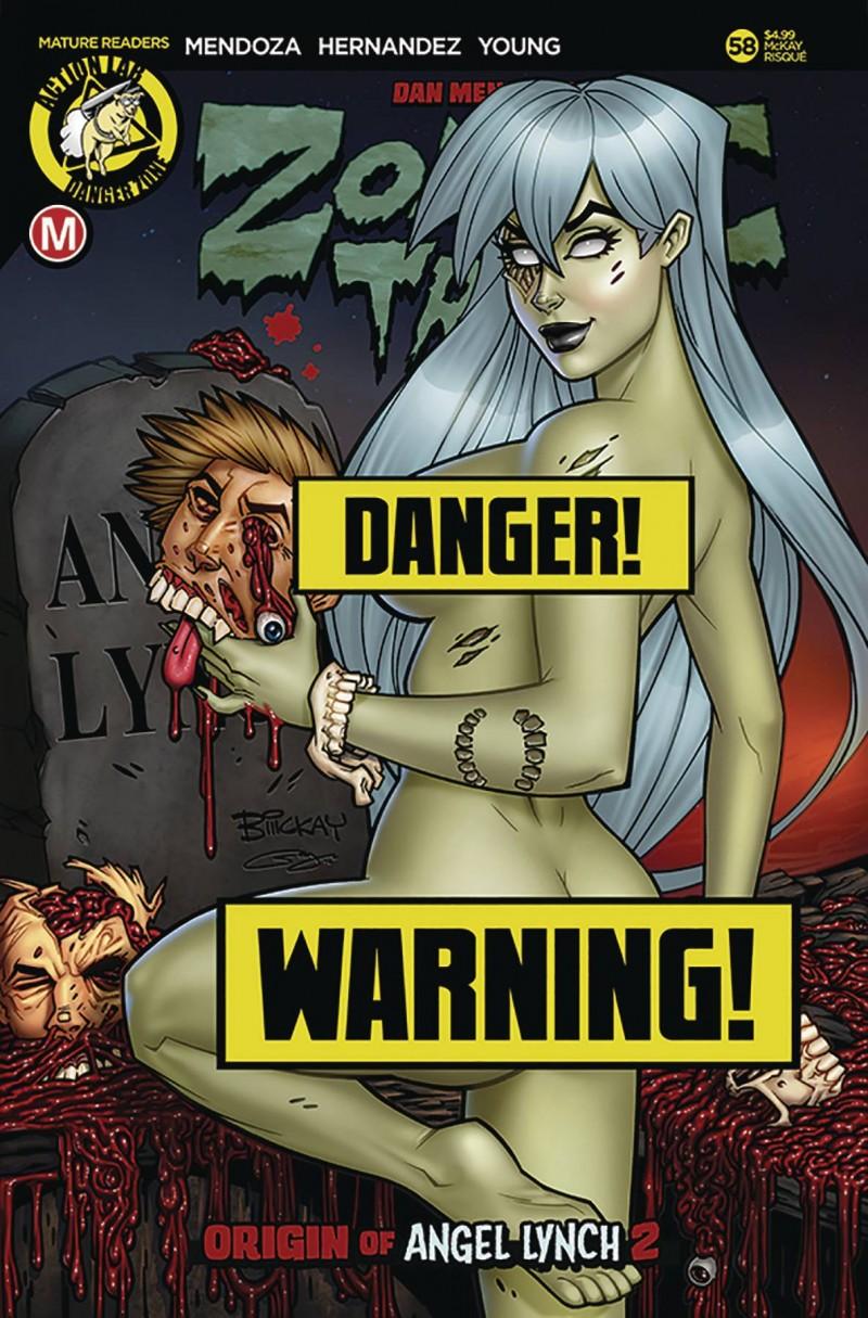 Zombie Tramp  #58 CVR D McKay Risque