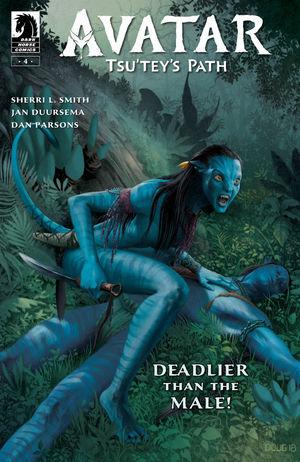 Avatar Tsu Teys Path #4 CVR A Wheatley
