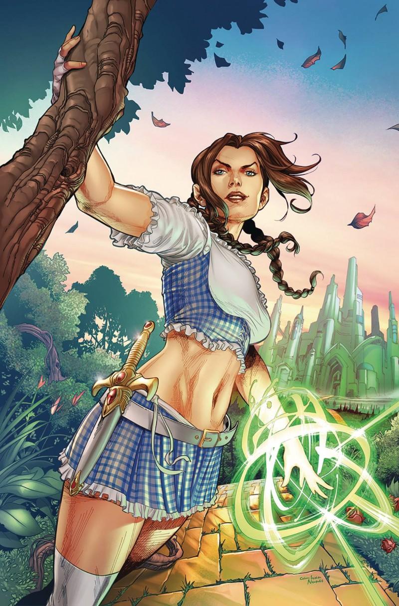 Oz Heart Of Magic #1 CVR A Coccolo