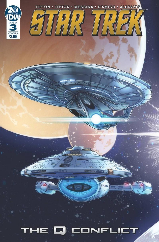 Star Trek Q Conflict #3 CVR A