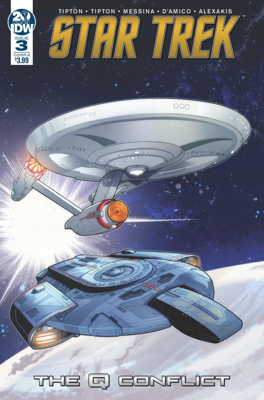 Star Trek Q Conflict #3 CVR B