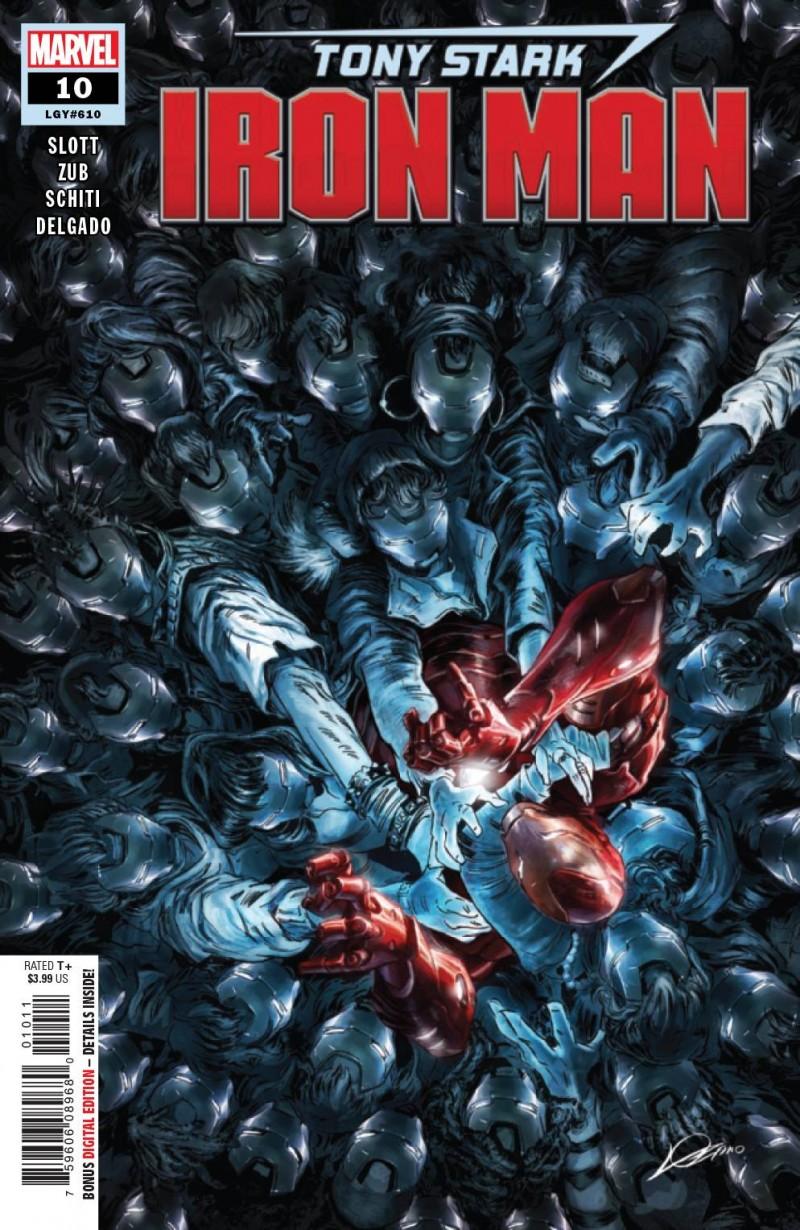 Tony Stark Iron Man #10