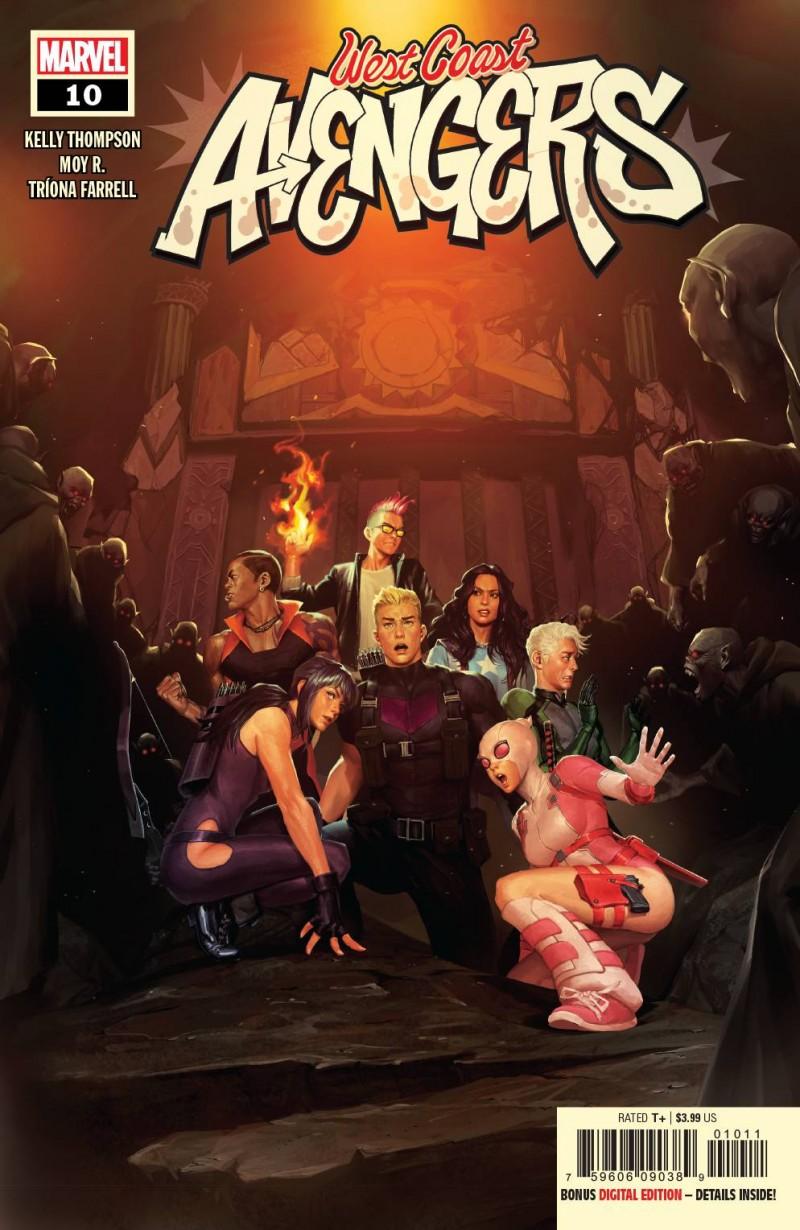 West Coast Avengers V3 #10