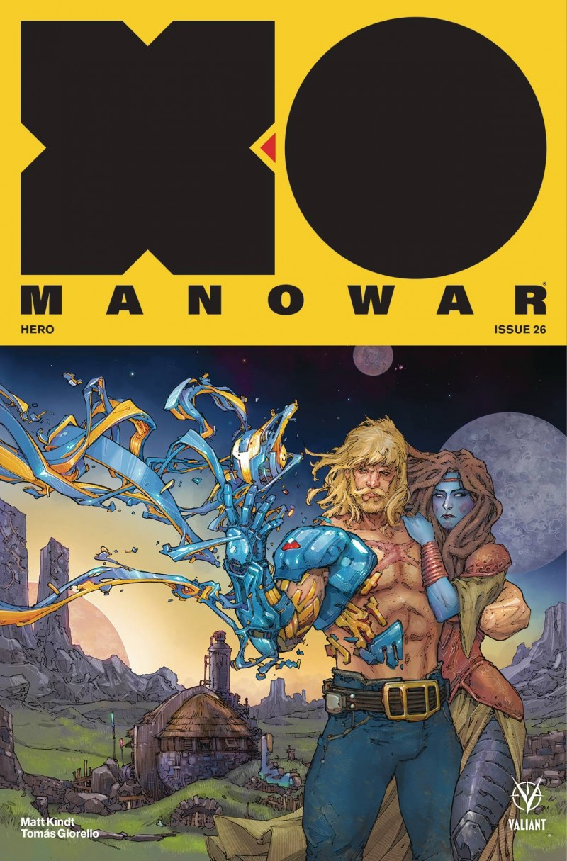 X-O Manowar  #26 CVR A Rocafort