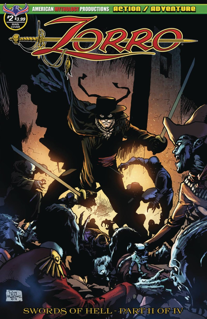 Zorro Swords Of Hell #4 CVR A