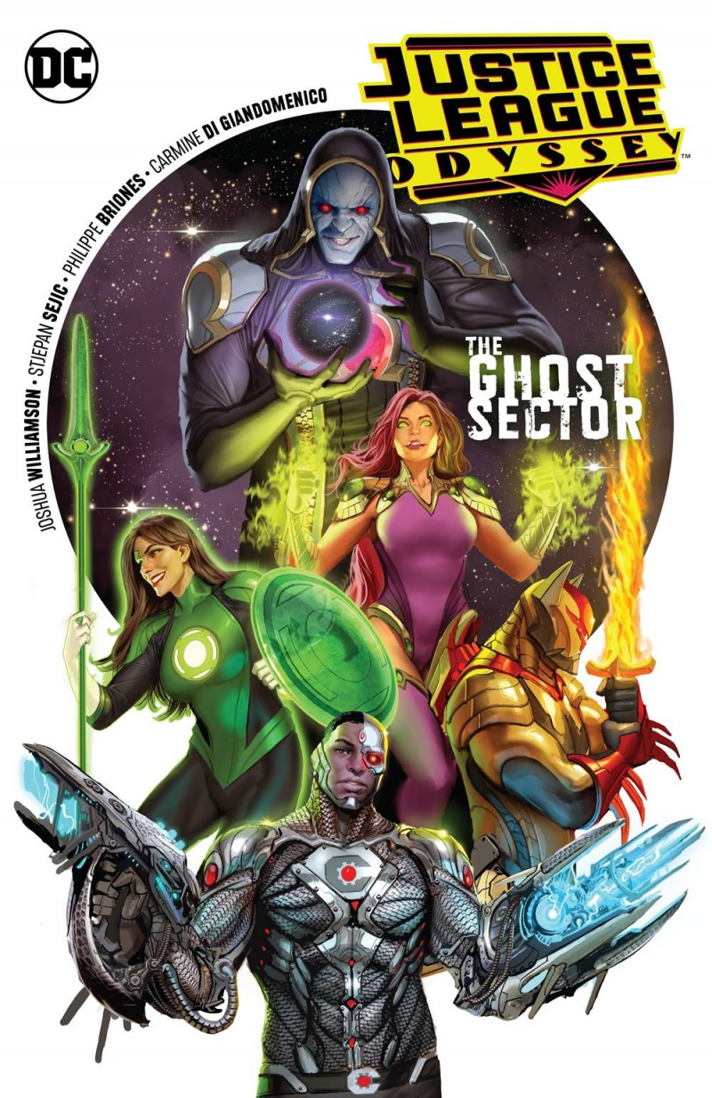 Justice League Odyssey TP V1 the Ghost Sector