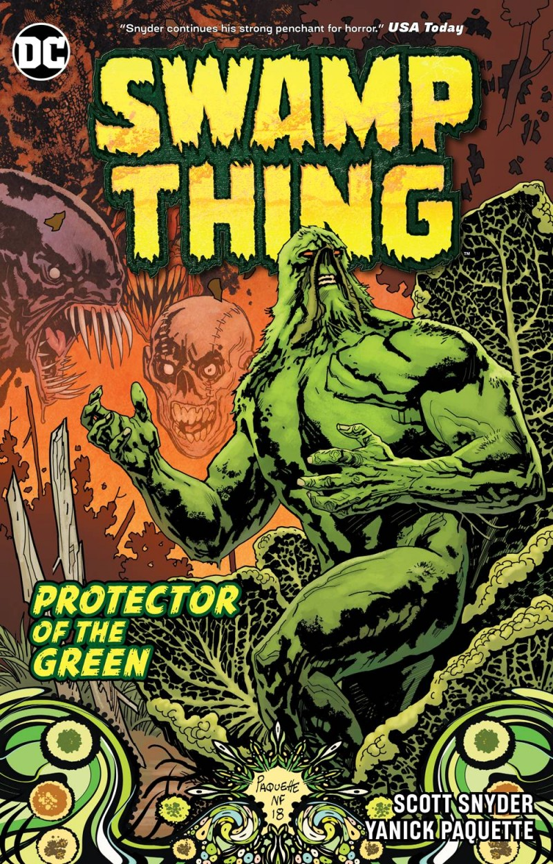 Swamp Thing TP Protector of the Green DC Essential Edition