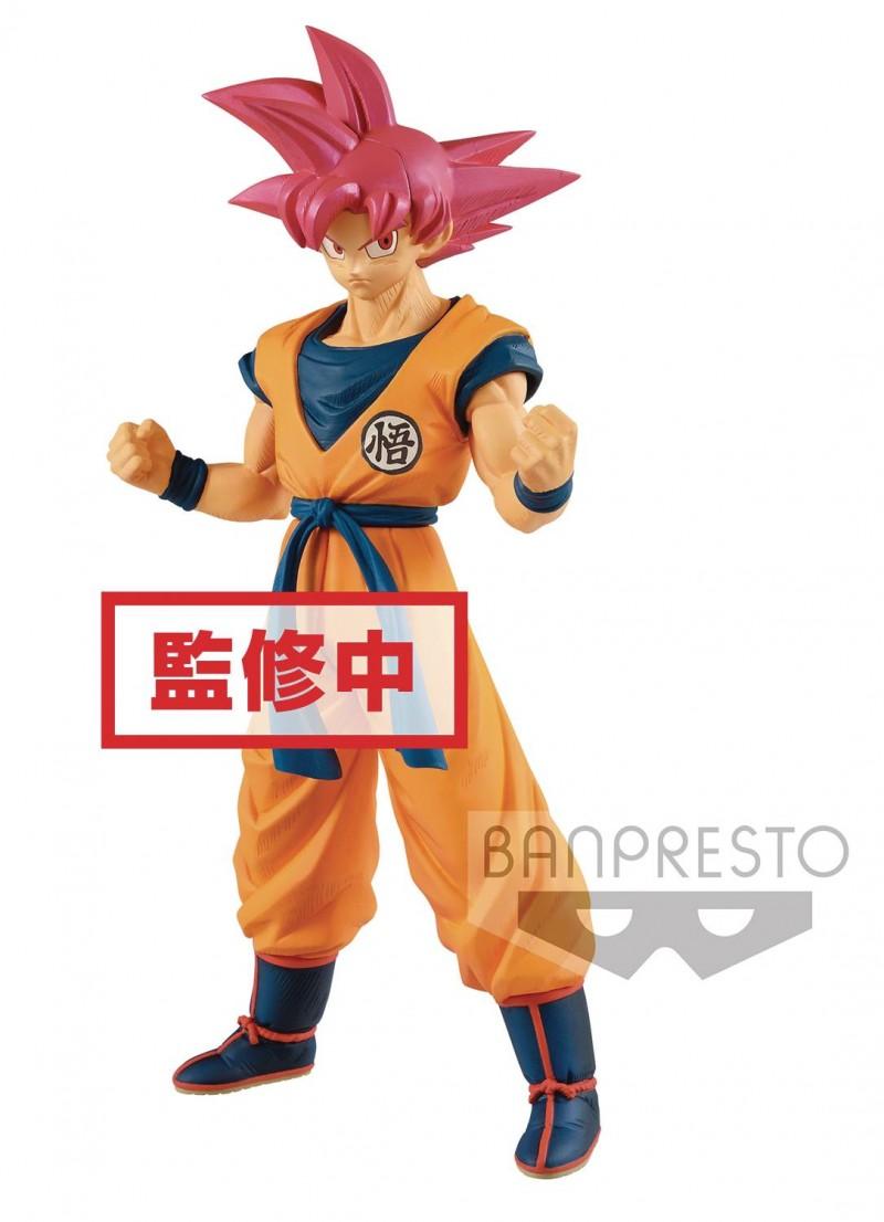 Dragonball Super Movie CB Super Power Figure God Son Goku