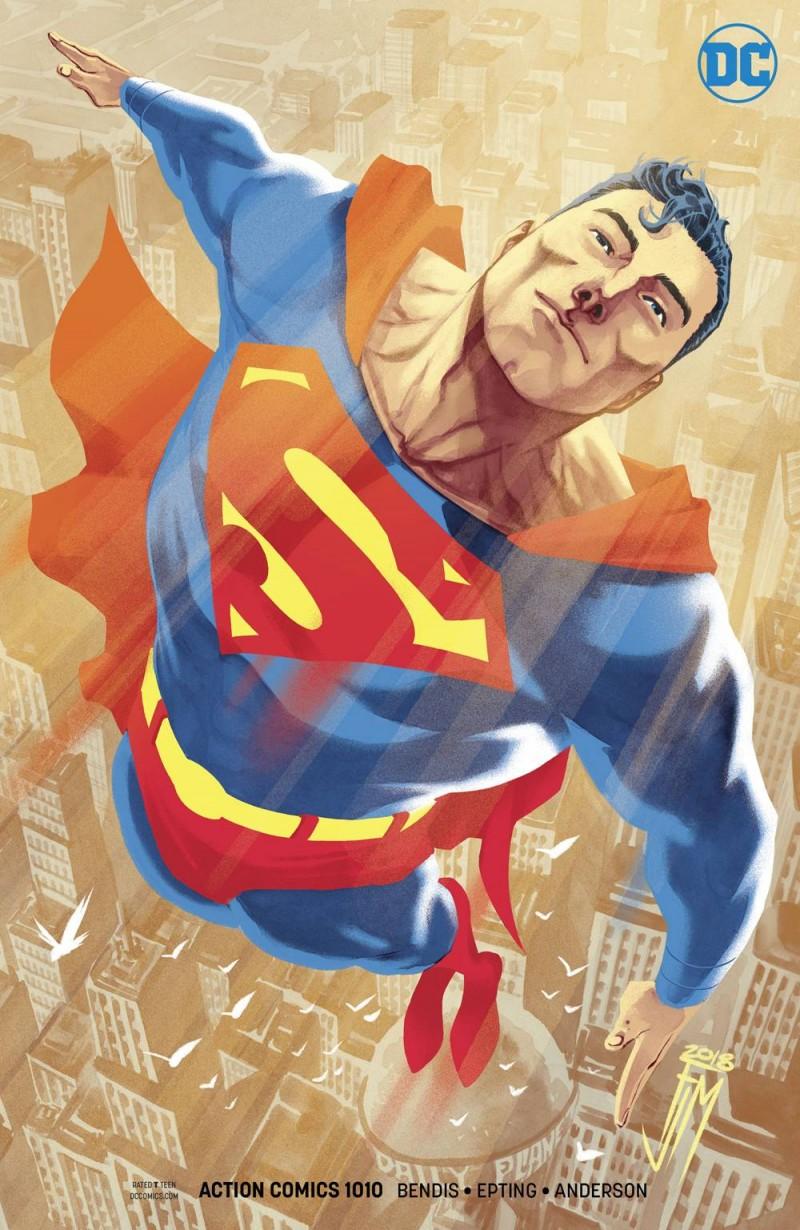 Action Comics #1010 CVR B