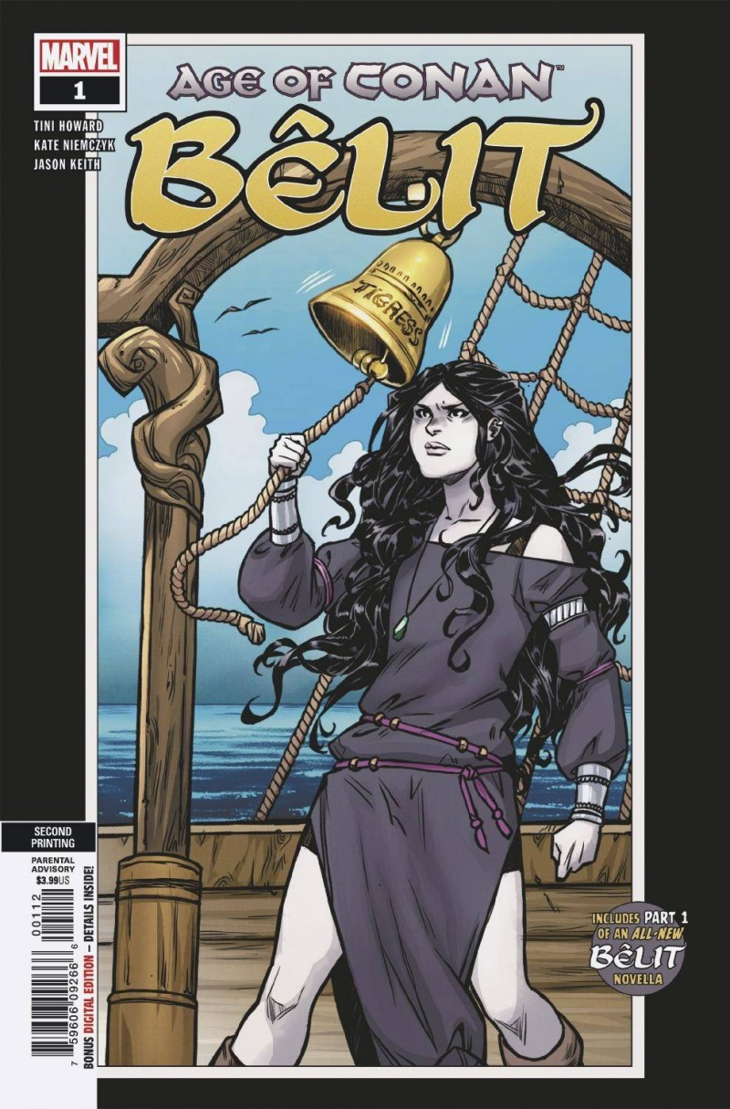 Age of Conan Belit #1 Second Printing Niemczyk