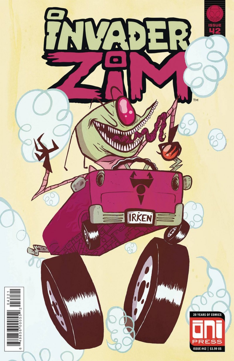 Invader Zim #42 CVR B