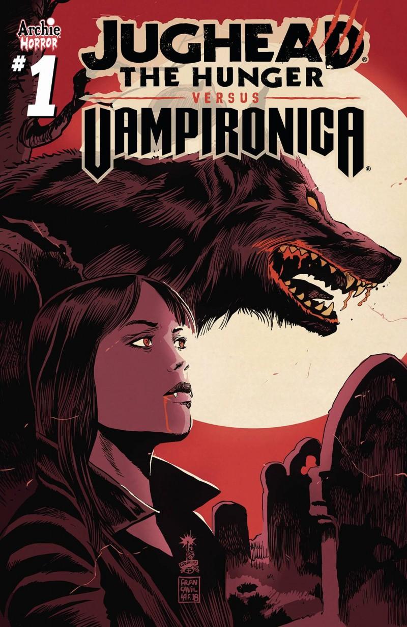 Jughead Hunger Vs Vampironica #1 CVR B Francavilla