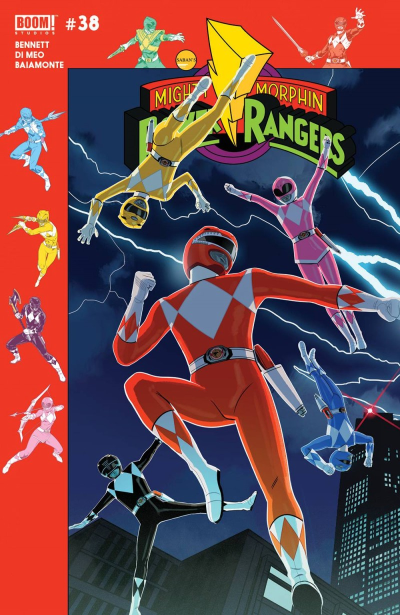 Mighty Morphin Power Rangers #38 CVR B PreOrder Gibson