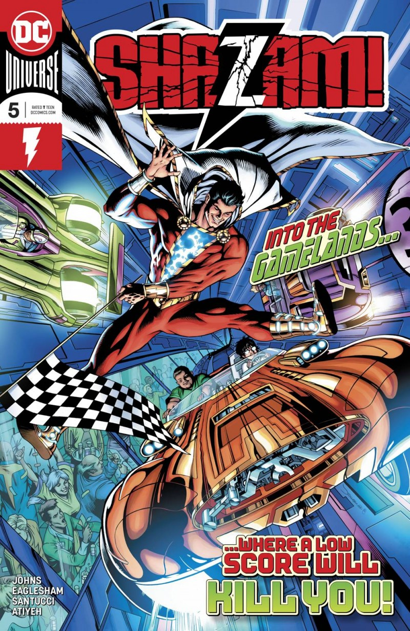 Shazam  #5 CVR A