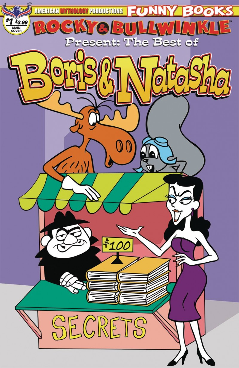 Rocky Bullwinkle Best of Boris and Natasha #1