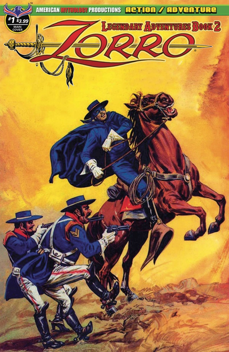 Zorro Legendary Adventures  #1