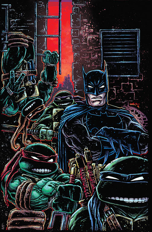 Batman Teenage Mutant Ninja Turtles III #1 CVR B