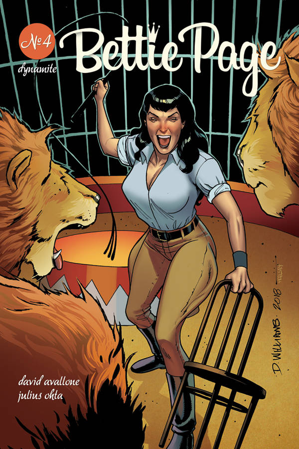 Bettie Page  #4 CVR C Williams