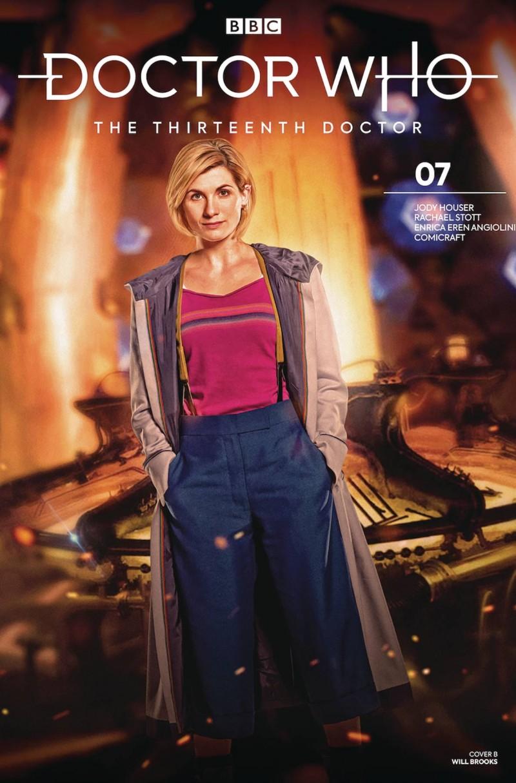 Doctor Who 13th #7 CVR B Photo