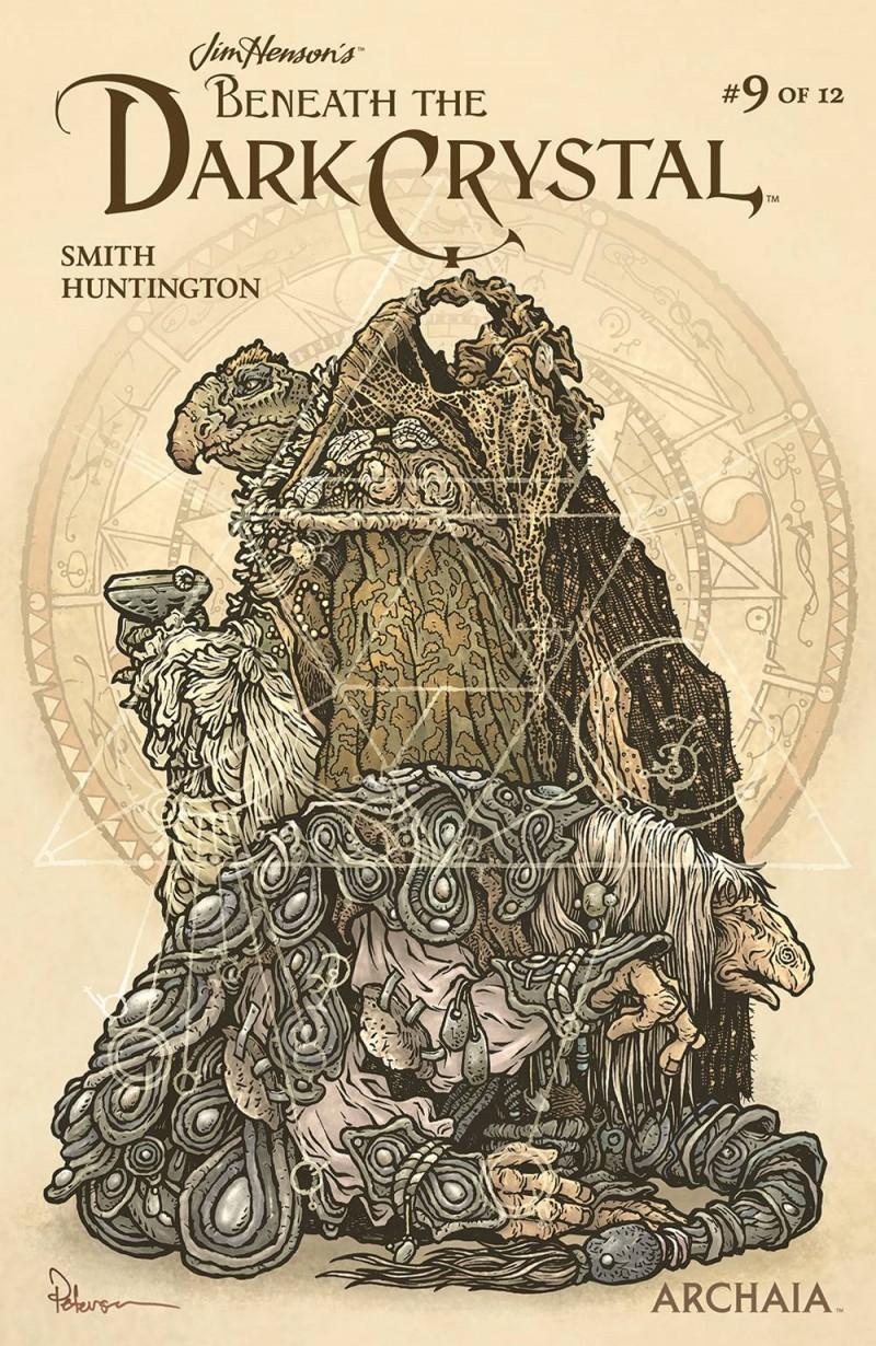Jim Henson Beneath Dark Crystal #9 CVR B Petersen