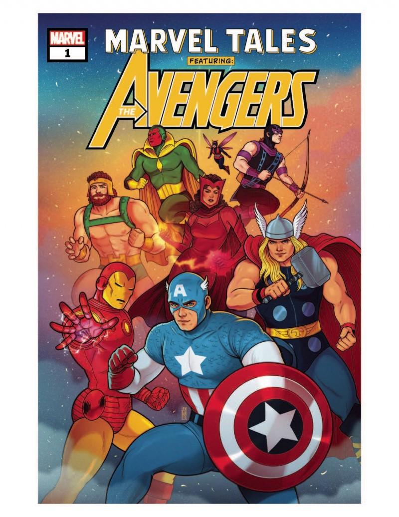 Marvel 80th Anniversary One-Shot Marvel Tales Avengers