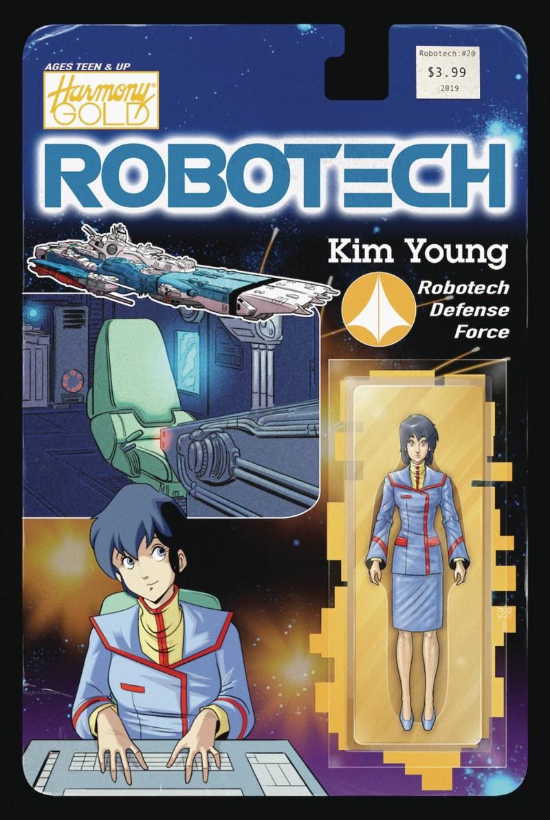 Robotech #20 CVR B Action Figure