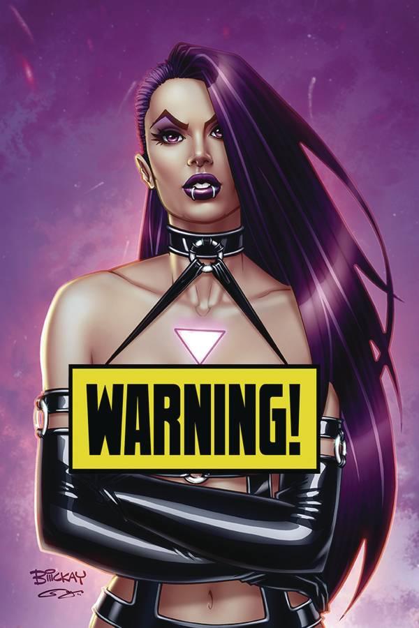Vampblade Season 4 #1 CVR J McKay Virgin Risque