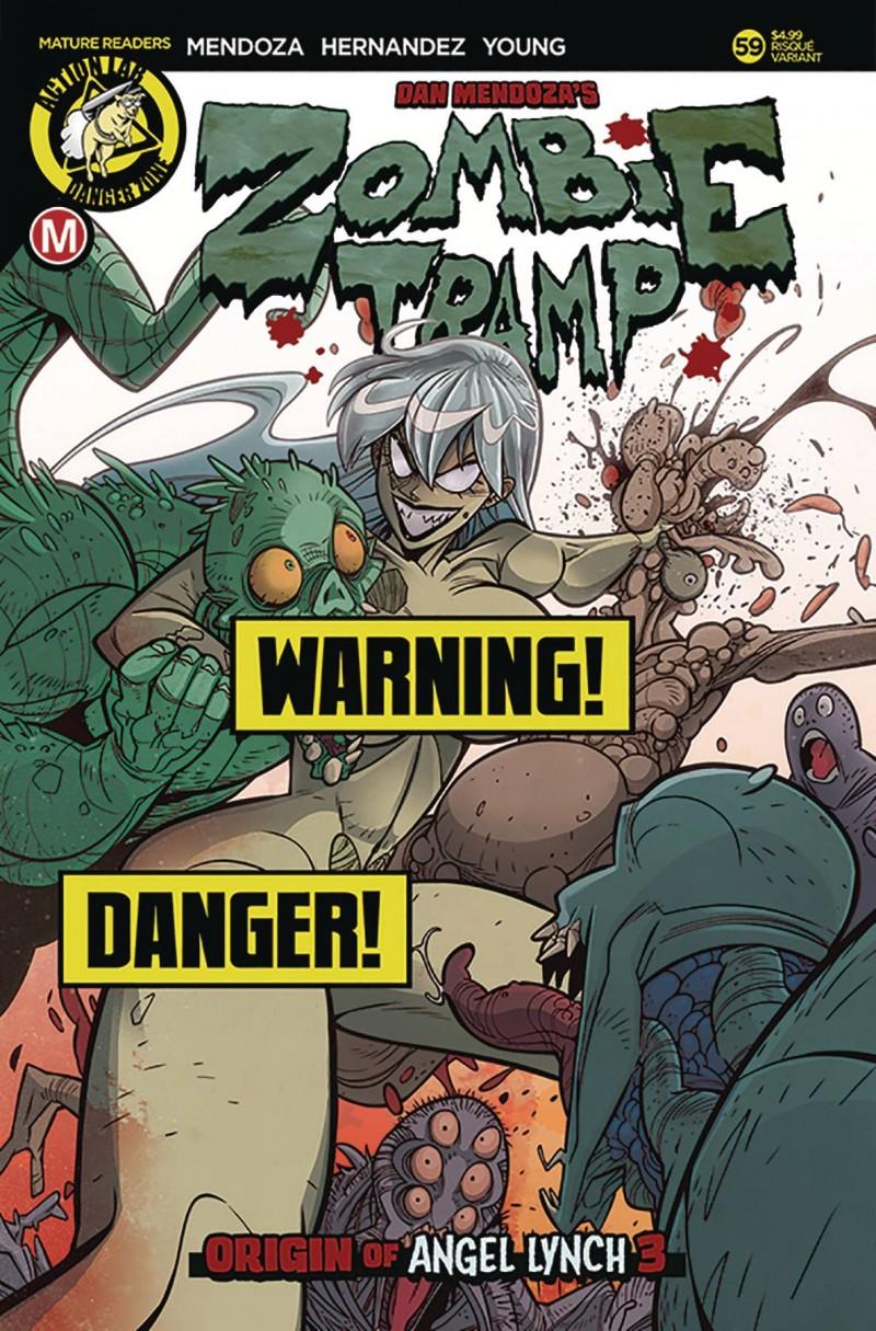 Zombie Tramp  #59 CVR B Maccagni Risque
