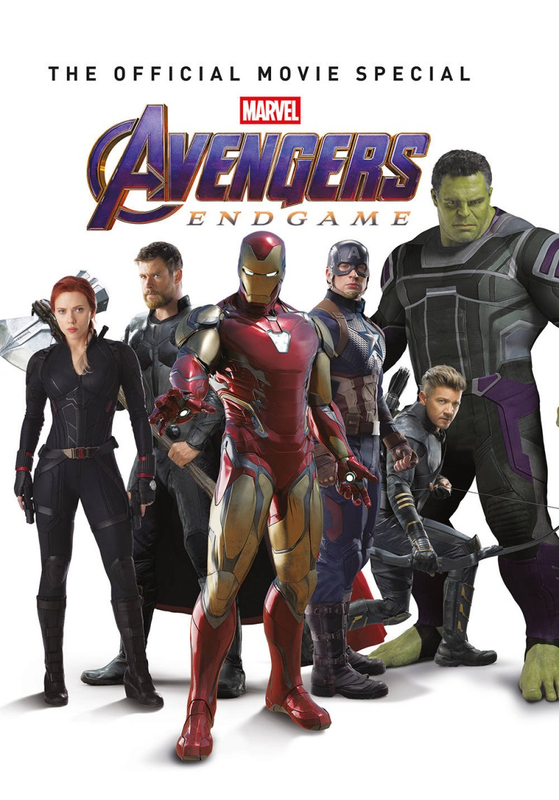 Avengers Endgame Official Movie Special Edition HC