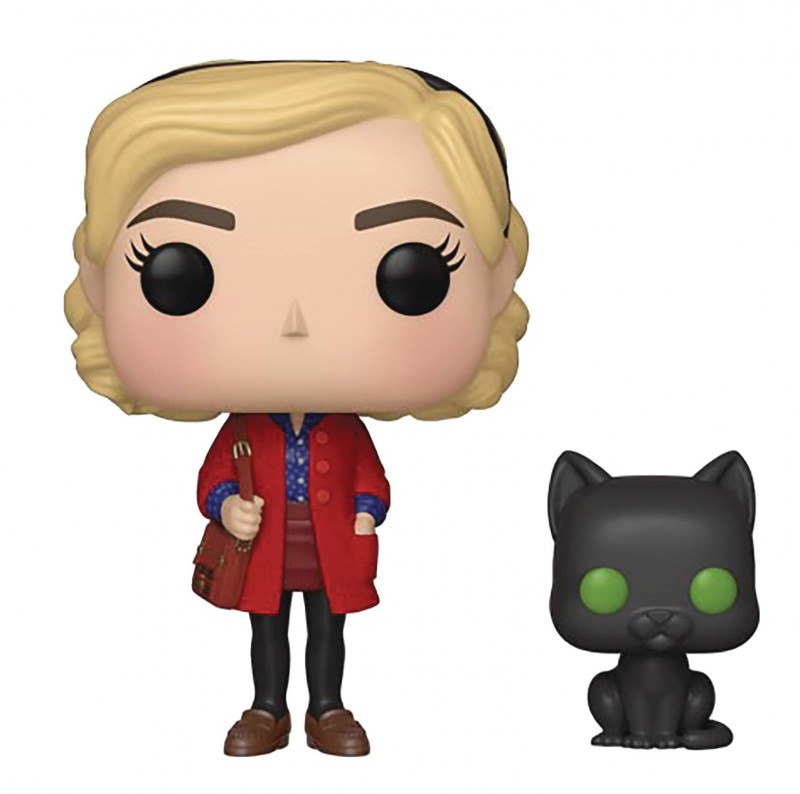 Funko Pop Chilling Adventures of Sabrina Sabrina and Salem