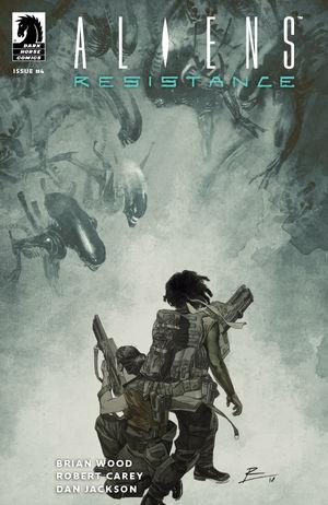 Aliens Resistance #4 CVR A De La Torre