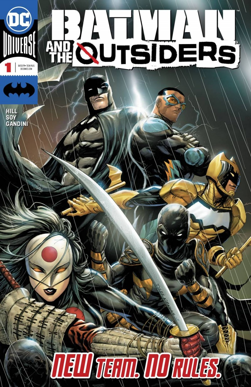 Batman and the Outsiders  #1 CVR A