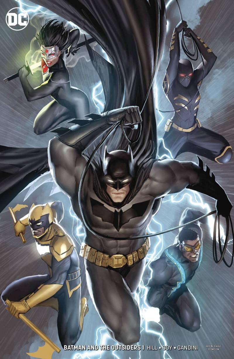 Batman and the Outsiders  #1 CVR B