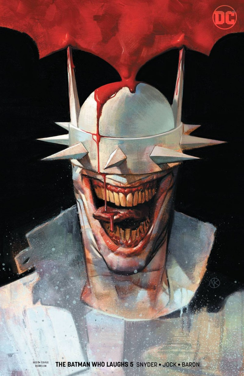 Batman Who Laughs #5 CVR B