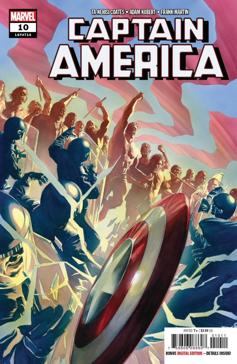 Captain America V8 #10