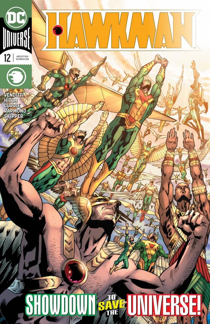 Hawkman  #12 CVR A