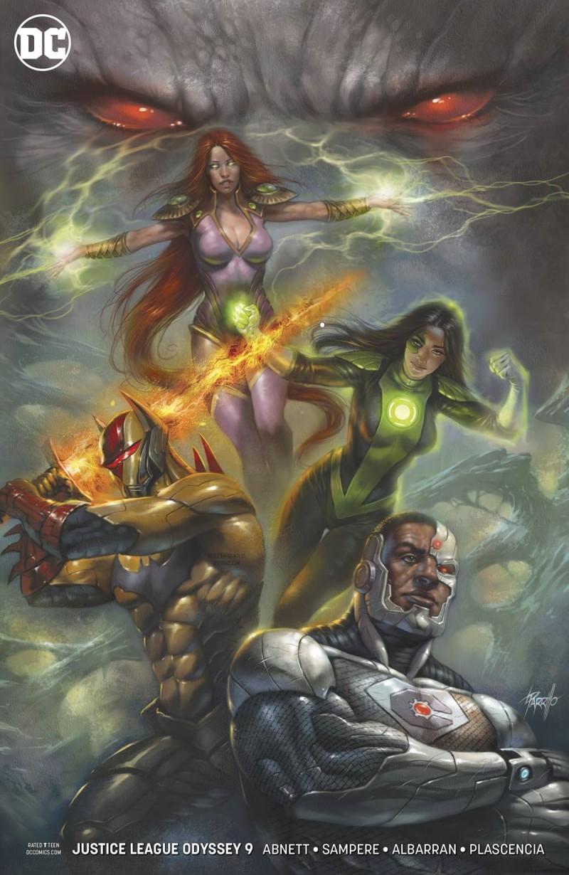 Justice League Odyssey #9 CVR B
