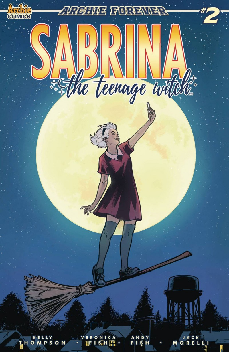 Sabrina Teenage Witch  #2 CVR C Ibanez