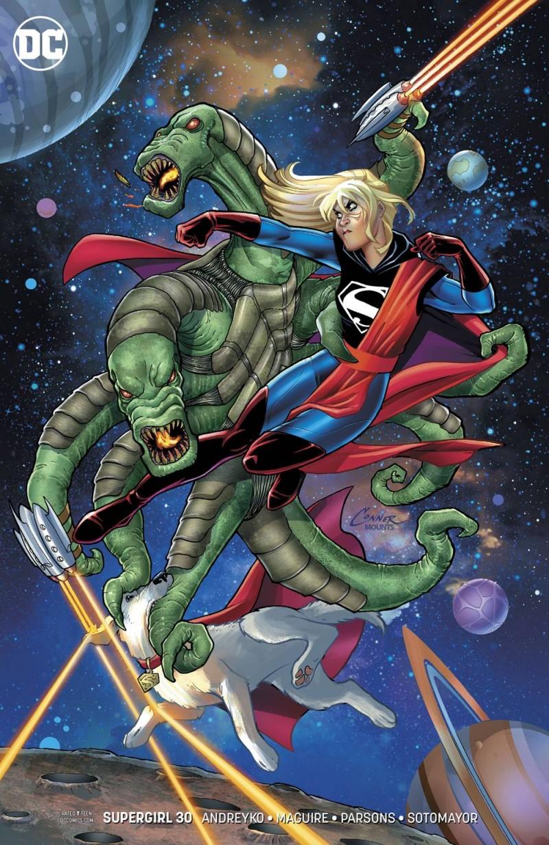 Supergirl  #30 CVR B