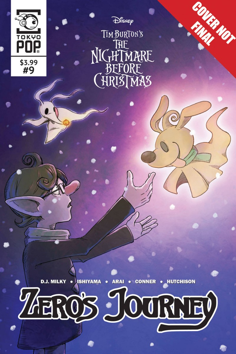 Nightmare Before Christmas Zeros Journey #9