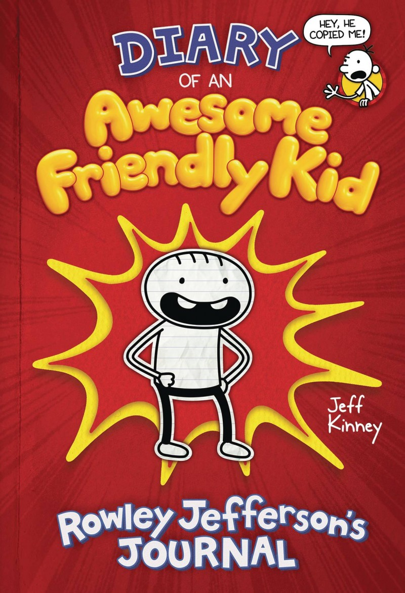 Diary of Awesome Friendly Kid HC Rowley Jeffersons Journal
