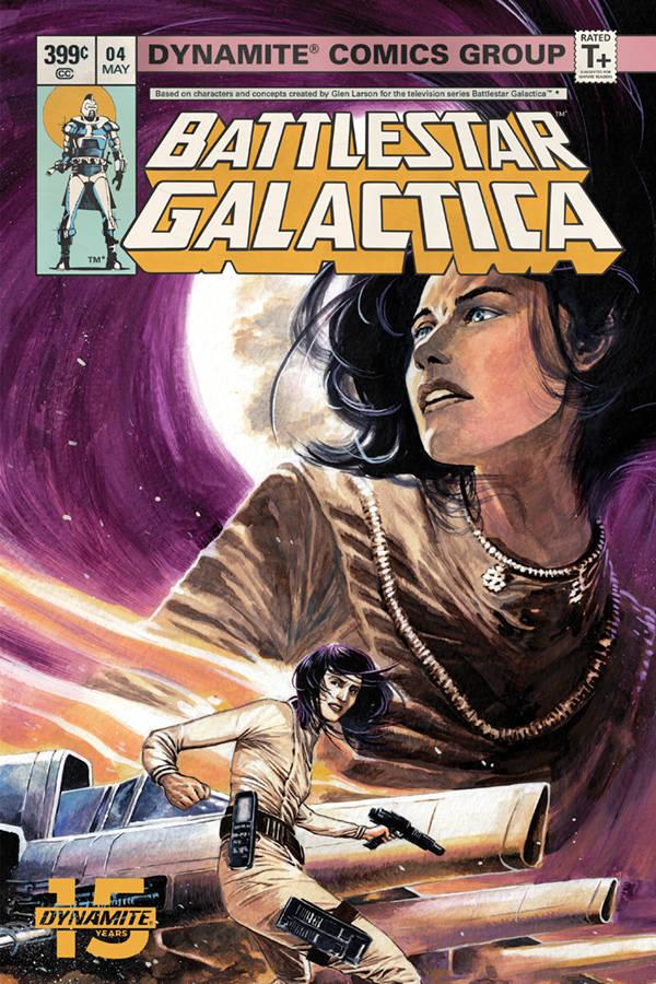 Battlestar Galactica Classic #4 CVR A Rudy
