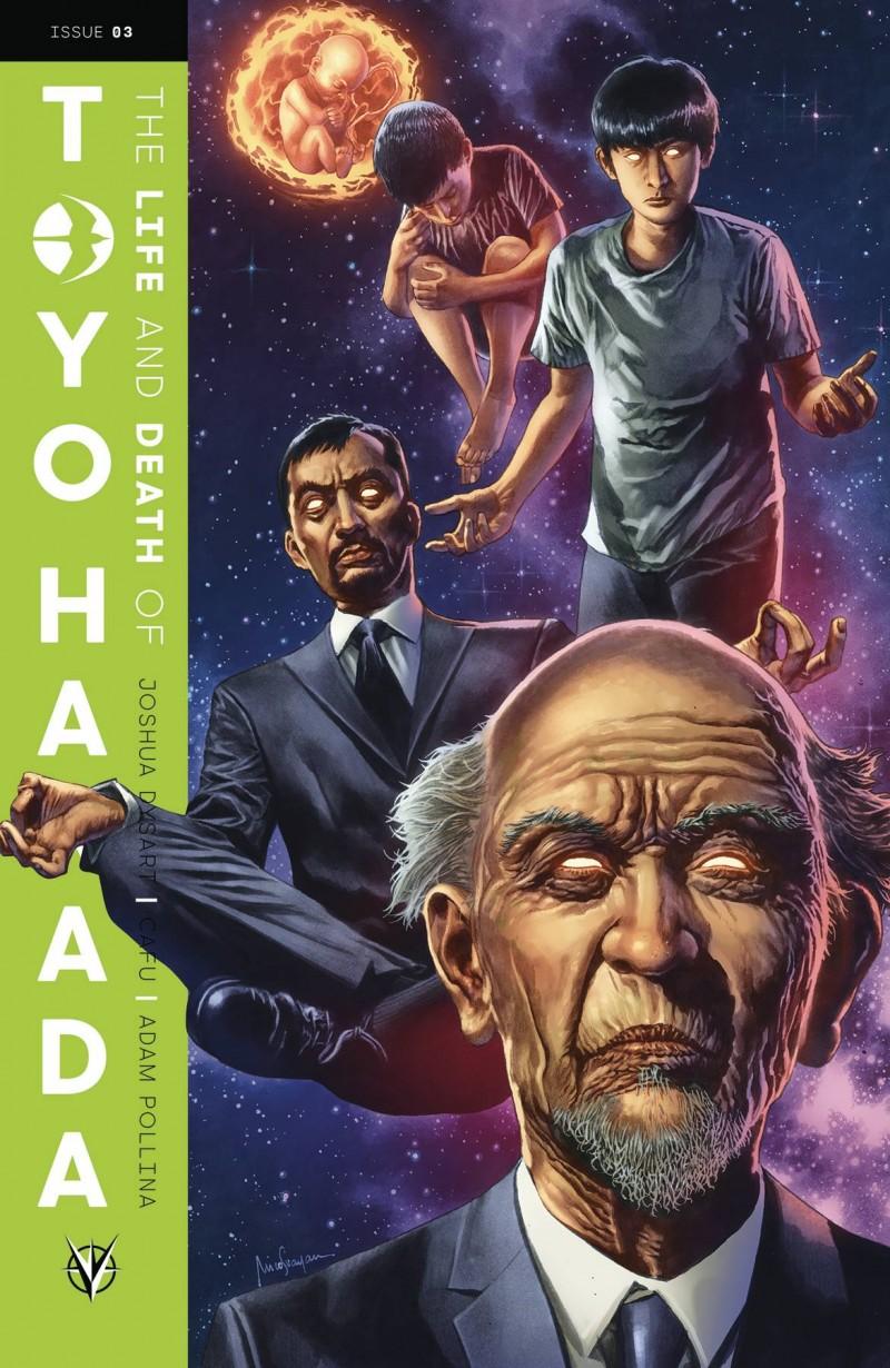 Life and Death of Toyo Harada #3 CVR A Suayan