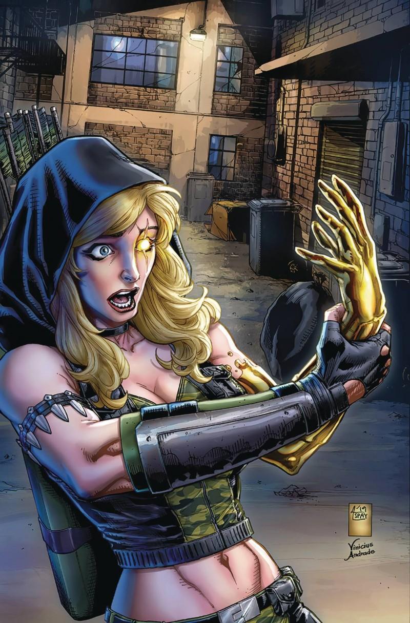Robyn Hood Outlaw #4 CVR D Spay