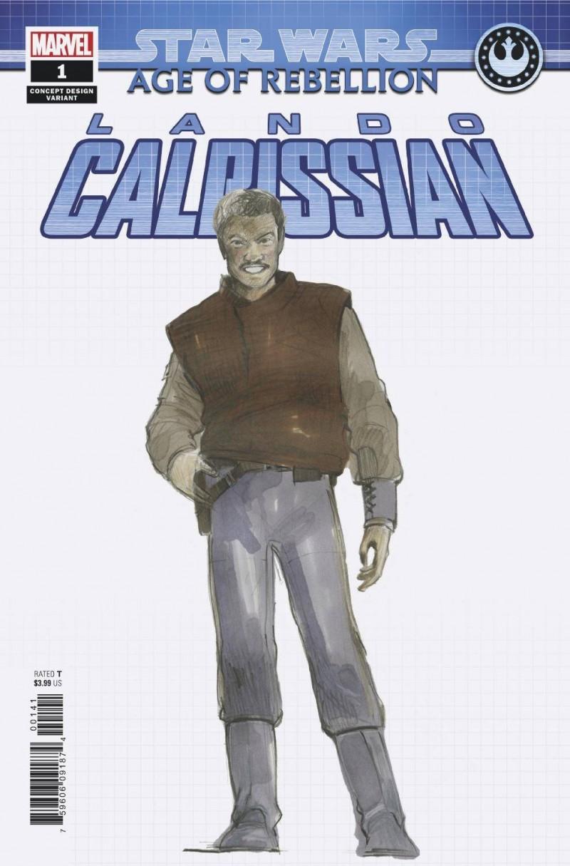 Star Wars Age of Republic One-Shot Lando Calrissian Variant Concept