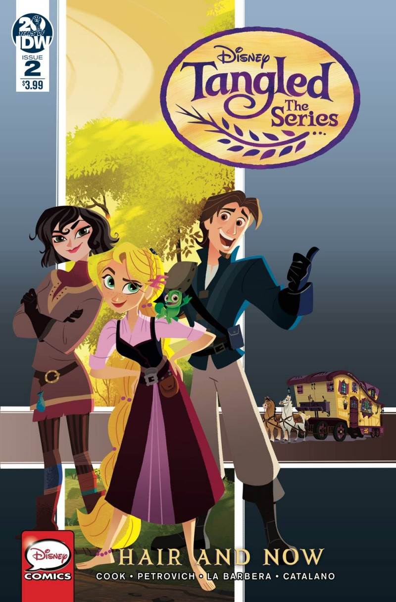 Tangled the Series Hair and Now #2