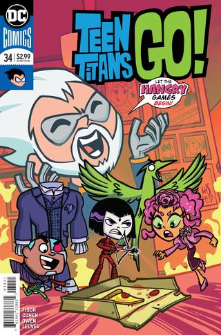 Teen Titans Go  #34